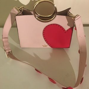 NWT Kate Spade Heart it Sam w 2 straps